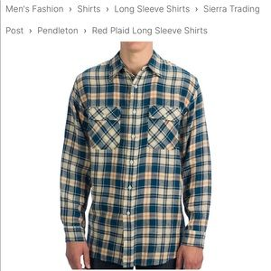 "Men's Pendleton ""Clark"" Botton down shirt"
